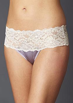 fine lingerie silk thong