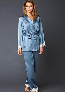 womens silk pajama
