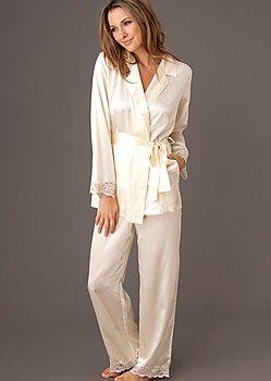 Luxury silk pajama petite