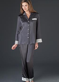 quality silk pajamas