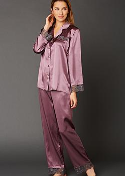 fine silk sleepwear