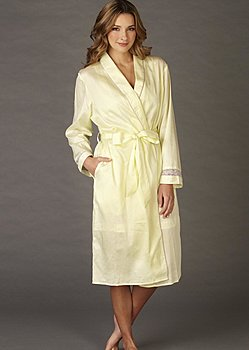 fine pure cotton robe