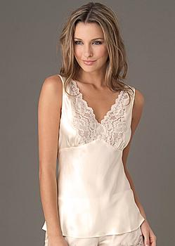 luxury silk camisole
