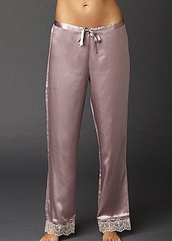luxury silk lounge pant