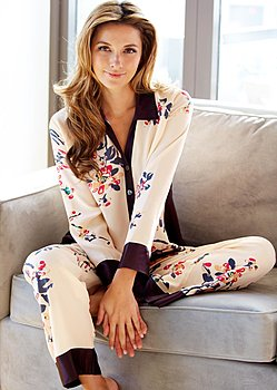 Luxury silk pajamas