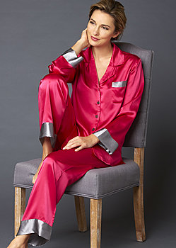 Evening Lounge Silk Pajama