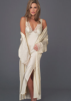 Perfect Indulgence Silk Gown