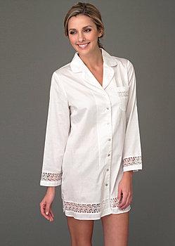 luxury cotton sleepshirt