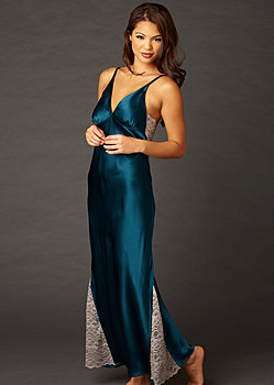Ariadne Silk Long Gown