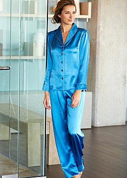Natalya Silk Pajamas - Petite