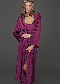 Evening Stroll Silk Robe