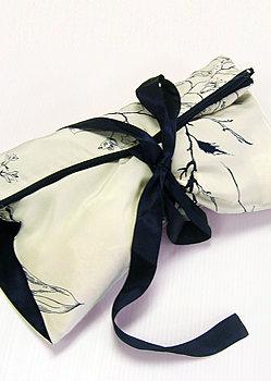silk lingerie bag
