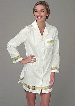 pure cotton sleepshirt