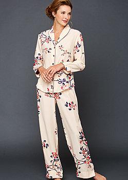 Natalya Silk Print Pajamas