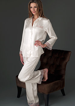 Sleep-In Silk Pajama Petite
