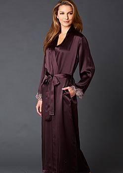 Indulgence Silk Robe