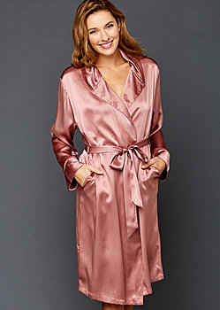 Estelle Silk Robe