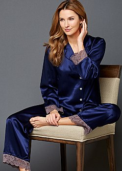 The Serendipity Silk Pajama