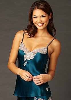 Indulgence Jewel Silk Camisole