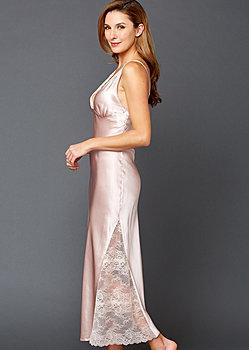 Allura Silk Long Gown
