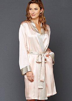 Simplicity Silk Robe