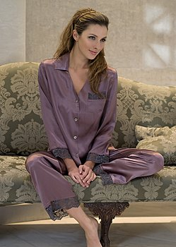 Bonsoir Silk Pajama