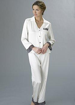 Bonsoir Silk Pajama Petite