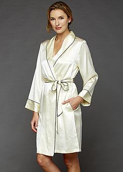 The Splendid Silk Short Robe
