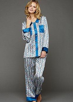 My Newest Crush Silk Pajamas - Petite