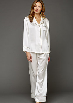 Paradise Found Silk Pajamas