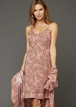 Paradise Found Silk Slip Nightgown