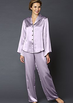 Devon Silk Pajama - Petite