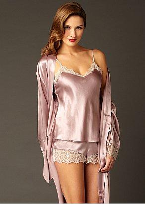 Le Soir Silk Camisole Top
