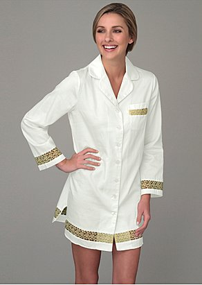 luxury cotton sleepshirt