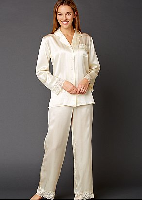 Cotton and Silk Pajamas for Women  87783c3f7