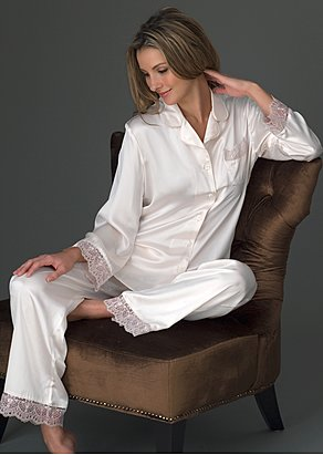 Sleep-In Silk Pajama