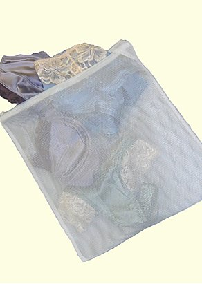 Mesh lingerie wash bag