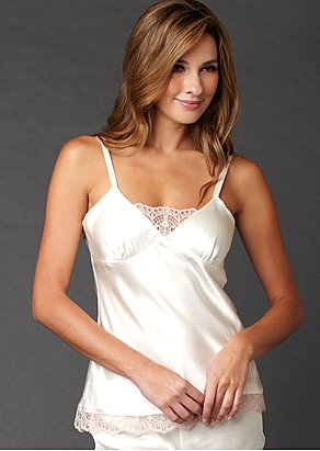 Camille Silk Camisole Top