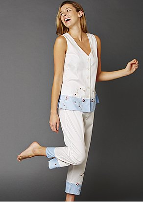 Daydreamer Sleeveless Cotton Pajama