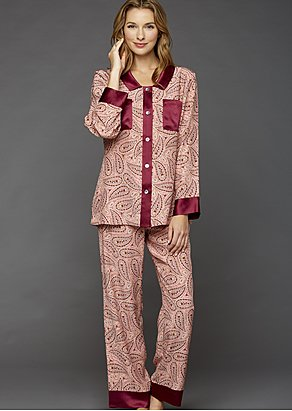 My Newest Crush Silk Pajamas