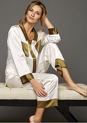 My Newest Crush Silk Pajama