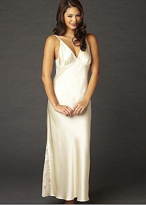 Ariadne Silk Long Gown
