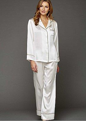 Paradise Found Silk Pajamas