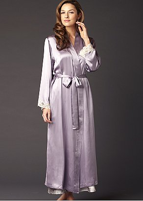 Indulgence Silk Robe