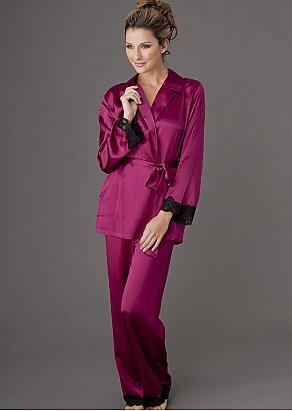 Indulgence Silk Wrap Pajama