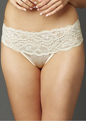 Indulgence Silk Thong