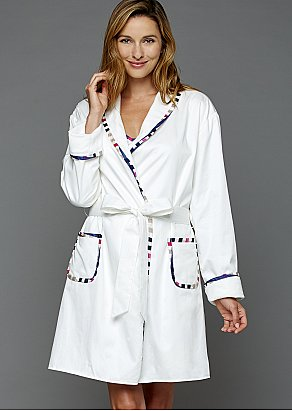 J'Adore Short Cotton Spa Robe