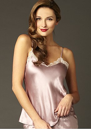 Le Soir Silk Camisole Top