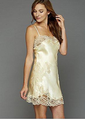 Moonlight Serenade Silk Nightgown