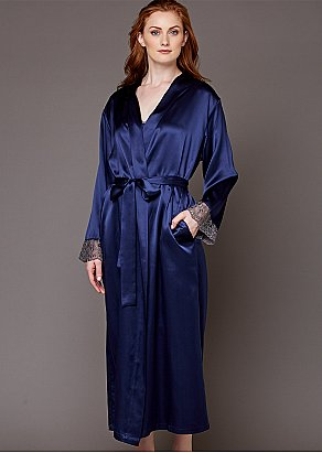 Le Soir Dream Silk Robe